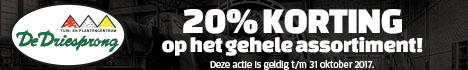 Winkelbanner - De Driesprong Zoetermeer