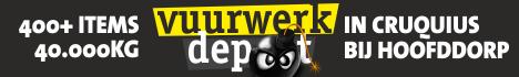 Winkelbanner - Vuurwerkdepot.nl